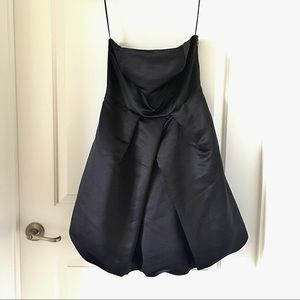 Express strapless bubble dress